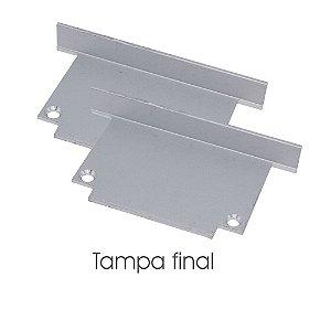Kit 2 Tampas Para Perfil EKPF52C