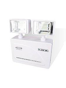 Iluminação de Emergência LED 3000 Lumens 2 Faróis - 24777