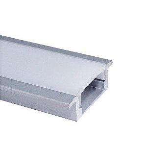 Perfil Embutir 1m Slim Fita LED - LUM21