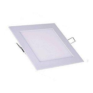 Painel de Embutir Quadrado Plafon LED - Bivolt