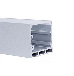 Perfil Embutir 2m Fita LED - LUM61
