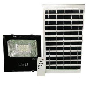 Refletor Luminaria Holofote LED  50W Solar IP66 - X