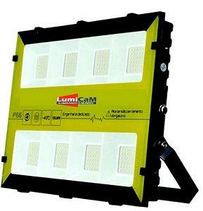 Refletor de Led RGBW 400W IP66 Bivolt - X