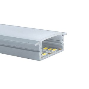 Perfil Embutir 31X10MM Slim LUM51SL Fita Led