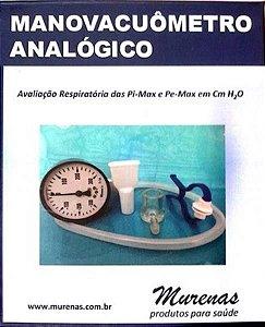 Manovacuômetro Analógico +/- 60 CMH2O - MURENAS