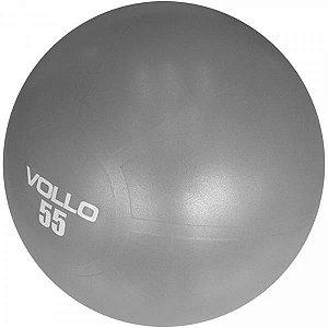 Bola Suiça Gym  Ball 55 cm Cinza - VOLLO