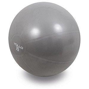 Bola Suiça Gym  Ball 75 cm Cinza - VOLLO
