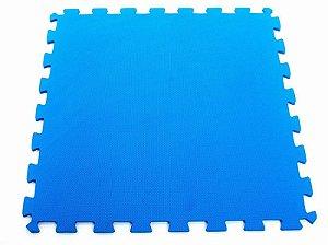 Tatame EVA Texturizado com encaixe 100x100x2cm - Azul Royal - EVAMAX