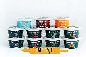 SEM PEDAÇOS -Kit Prático Fase 2 + sobremesa (8 papinhas salgadas + 3 sobremesas)