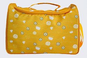 Bolsa Térmica Amarela (Tamanho G)