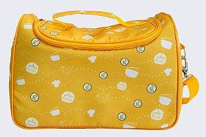 (APENAS RJ) Bolsa Térmica Amarela (Tamanho M)