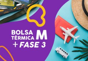 (APENAS RJ) Kit Bolsa Térmica M + Fase 3