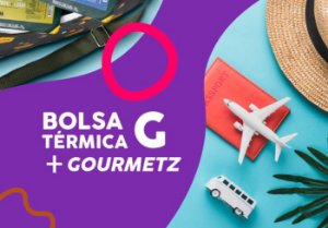 Kit Bolsa Térmica G + Gourmetz