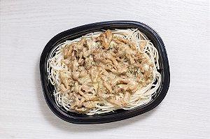 (APENAS SP) LowCarb - Spaghetti de Pupunha com Shimeji