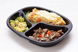 LowCarb - Tortilha Espanhola + Apargos + Cogumelos