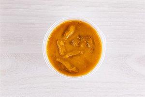 Gourmetz - Sopa Creme de Abóbora e Carne