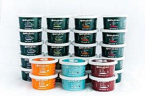 (APENAS BH, RJ E SP)Kit Mensal Fase 01 + sobremesa (20 papinhas salgadas + 6 sobremesas)