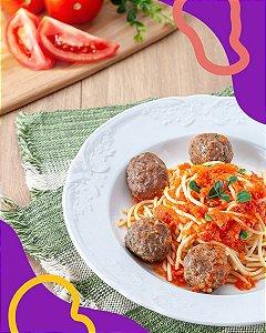 Spaghetti com Almôndegas ,| Especiais do Chef