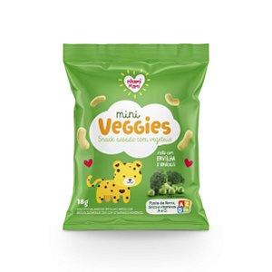 MINI VEGGIES Ervilha e Brócolis - Nhami Mami ,| Lanches