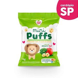 SP | MINI PUFFS  Brócolis e Maçã - Nhami Mami