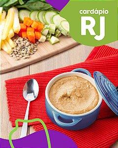RJ | F1- Papinha de Miolo de alcatra, mandioca e agrião