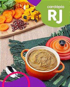 RJ | F1 - Papinha de Músculo bovino, abóbora e feijão azuki