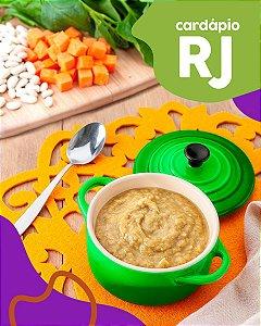 RJ | F1 - Papinha de Peito de frango, feijão branco e espinafre