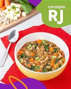 RJ | F2 - Papinha de Ossobuco, feijão fradinho e agrião