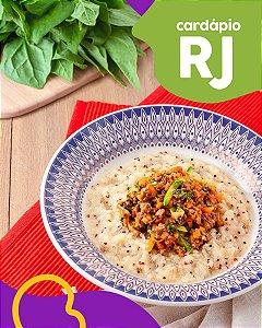 RJ | F3 - Ragu de carne com polenta de quinoa