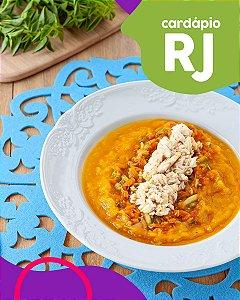 RJ | F3 - Saint Peter com legumes na moranga