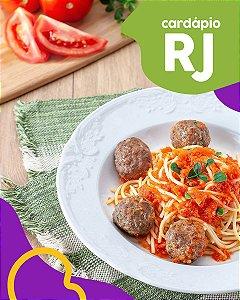RJ | EC - Spaghetti com almôndegas