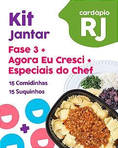 RJ | Kit Jantar - Fase 3, AC e EC