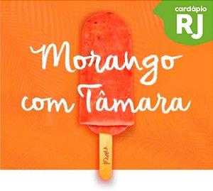 RJ | Sorvete - Morango com Tâmara