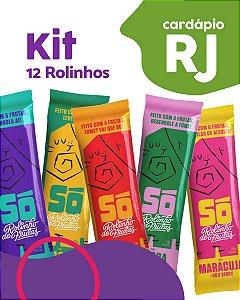 RJ | Kit 12 Pacotes - Só Snacks