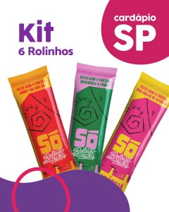 SP | Kit 6 Pacotes - Só Snacks