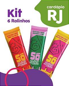 RJ | Kit 6 Pacotes - Só Snacks