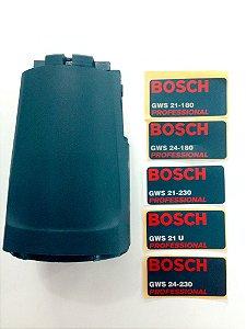 Carcaça de Reposição para Lixadeiras Bosch GWS 21-180, GWS 24-180, GWS 21-230, GWS 21-U, GWS 24-230