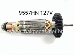 ROTOR 110V PARA ESMERILHADEIRA MAKITA  9557N / 9557HN / 9557HP / 9557NB / 9557PB / GA2014