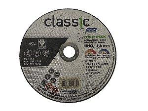 DISCO DE CORTE AÇO INOX FINO 180,0X1,6X22,23MM CLASSIC