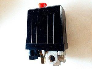 PRESSOSTATO / AUTOMÁTICO 80 / 120 LBS C/BOTAO LIG/DESL COMPRESSOR