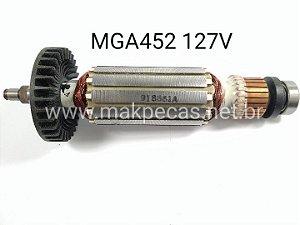 ROTOR  110V PARA LIXADEIRA MAKITA MGA-452, M9502 510200-9