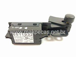 INTERRUPTOR TG933TR-1 ESMERILHADEIRA, LIXADEIRA MAKITA GA5010