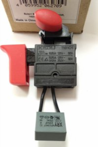 Interruptor Plaina Bosch Gho 16-82 D / 127 V / BR