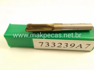 FRESA RETA 6MM TUPIA 3709/ M3601