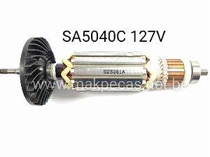 ROTOR 127V PARA LIXADEIRA MAKITA SA5040C  515381-4