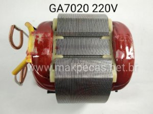 ESTATOR 220V ESMERILHADEIRA MAKITA  GA7020  526178-6