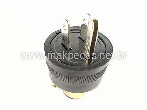 PLUG DE 3 PINOS  120 V PARA MOTOR B4T 2500/ 5000/ 6500 L 12701560