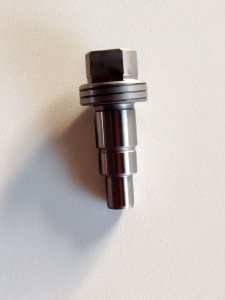 Fuso / eixo para serra mármore bosch modelo GDC-14-40