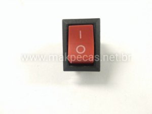 CHAVE LIGA/DESLIGA GERADOR BRANCO B2T 950 / B4T 1300