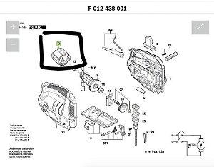 ESTATOR 127V SERRA TICO TICO SKIL 4380